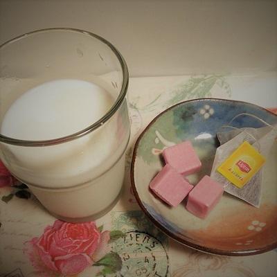 牛乳とキャラメルと紅茶