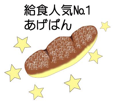 あげパンの絵