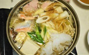 あん肝鮭鍋