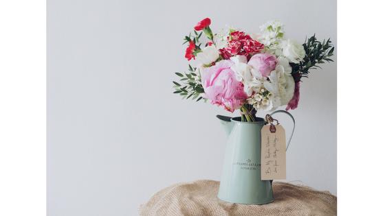 花瓶に入ったきれいなお花
