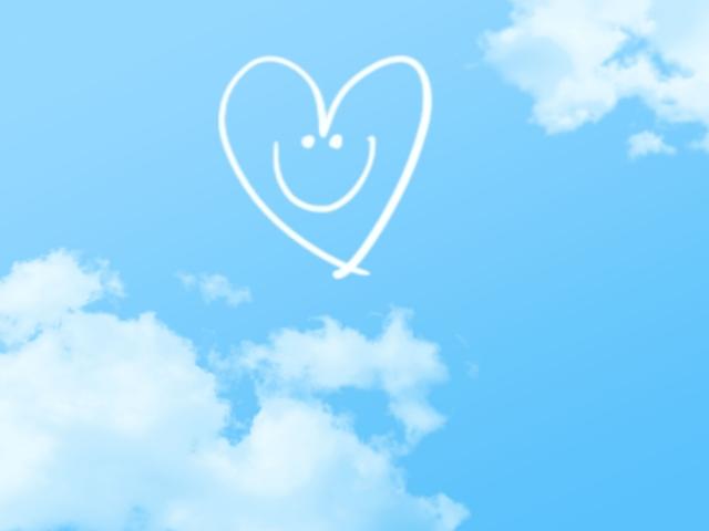 笑顔の画像
