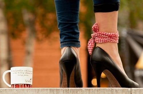 靴のヒール